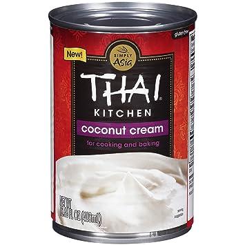 Amazon.com : Thai Kitchen Coconut Cream, 13.66 fl oz : Grocery ...