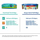 Refill for Diaper Genie, 300 Count (Pack of 8) by