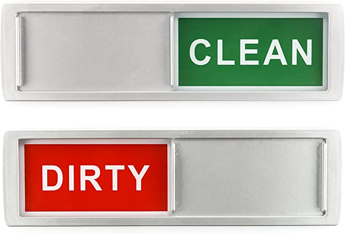 Charles Daily Clean Dirty Dishwasher Magnet