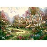 """Schmidt Spiele 57453 """"Gardens Beyond Spring Gate"""" Puzzle (2000-Piece)"""