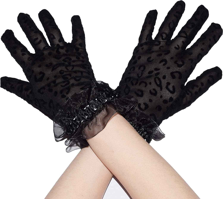 Long black gloves fancy dress opera evening fun gothic 1920s ladies