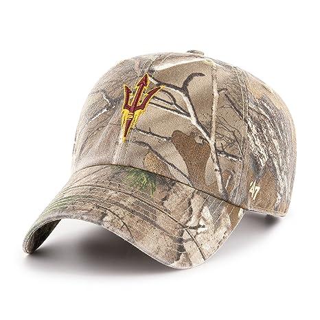 cc3cee7b8e2  47 NCAA Arizona State Sun Devils Adult Clean Up Realtree Adjustable Hat
