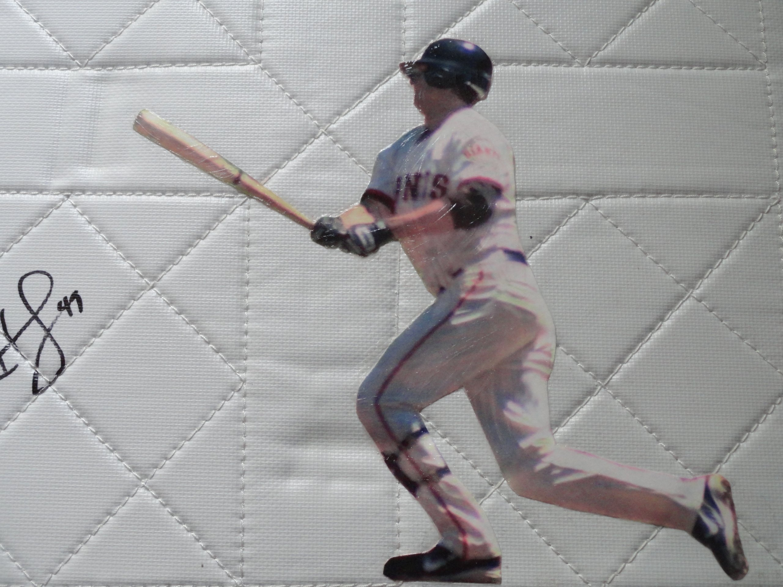 Brian Horwitz Autographed Hand Signed San Francisco Giants Photo Full Size Baseball Base with Proof Photo of Signing and COA SF Giants Collectibles