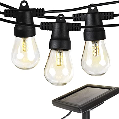 brightech ambience pro solar powered led outdoor string lights