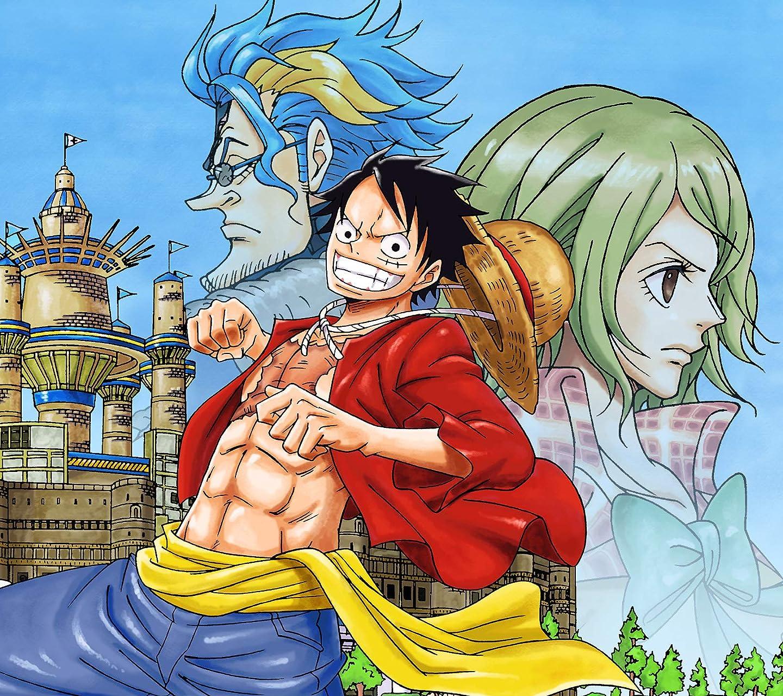 One Piece Hd 1440 1280 ルフィ アイザック ジャンヌ アニメ スマホ用