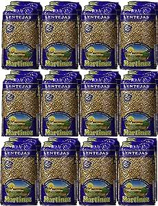 Lenteja pardina paquetes de 500 g. [PACK 24 UNIDADES] total 12 kg.