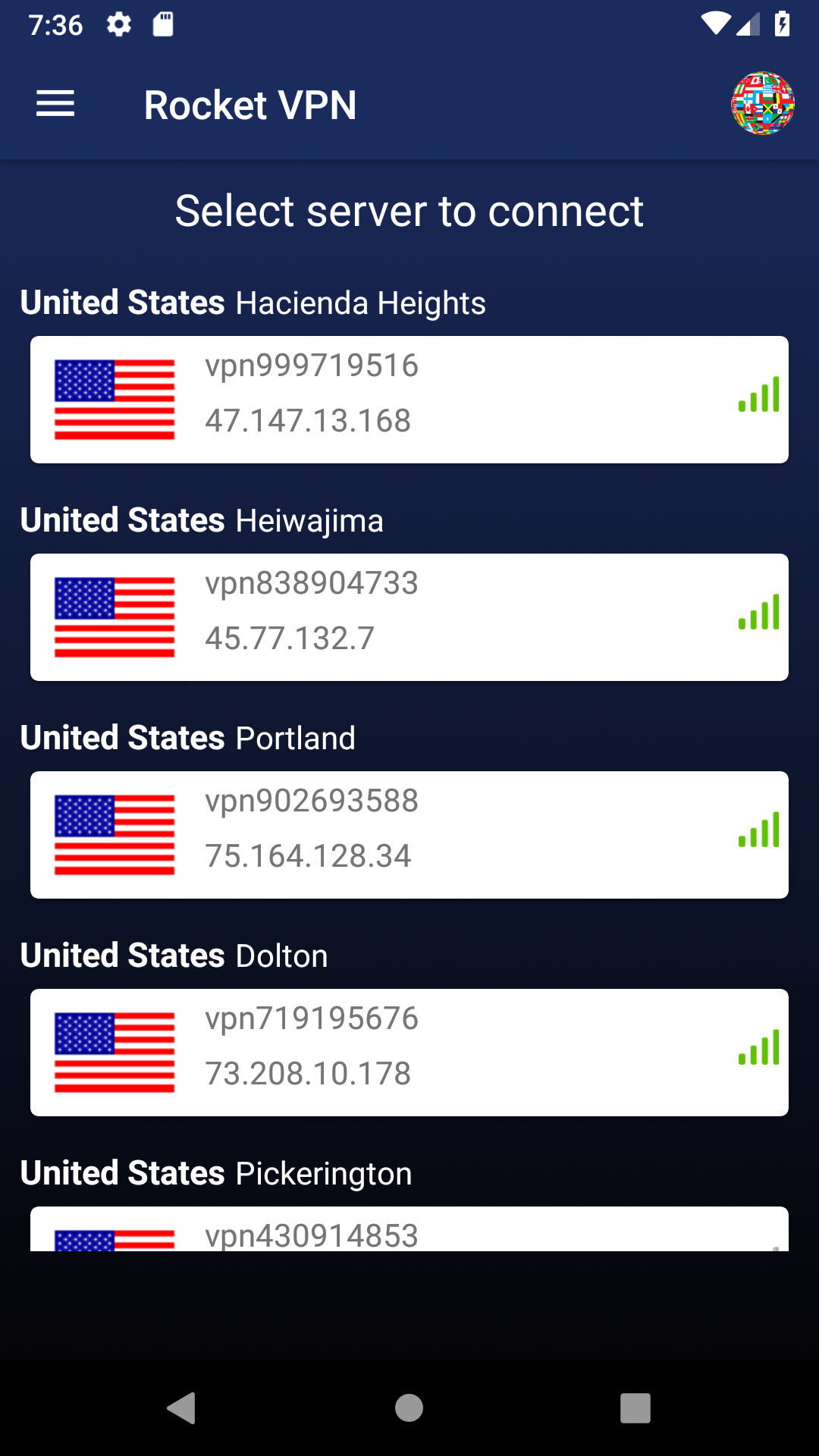 Amazon.com: Rocket VPN Shield Gate Proxy App: Private Internet: Appstore for Android