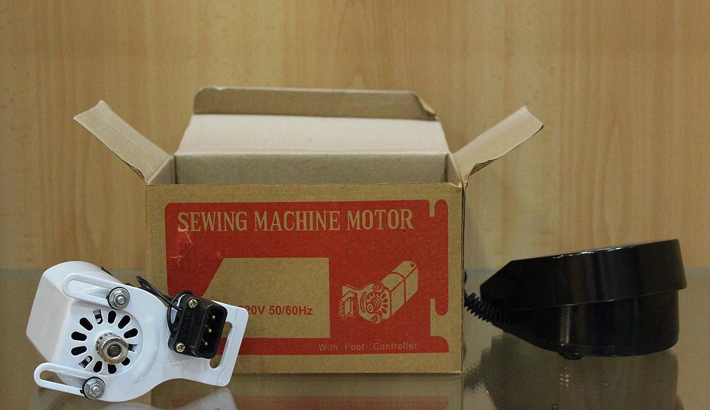La Canilla ® - Motor Para Máquinas de Coser 90W 220V: Amazon.es: Hogar