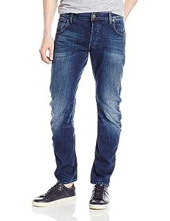 850f5af5fa9 Amazon.com: G-Star Raw Men's 3301 Slim Jean in Beln Stretch Denim ...