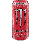 Monster Energy, Ultra Red, 16 Ounce (Pack of 24)