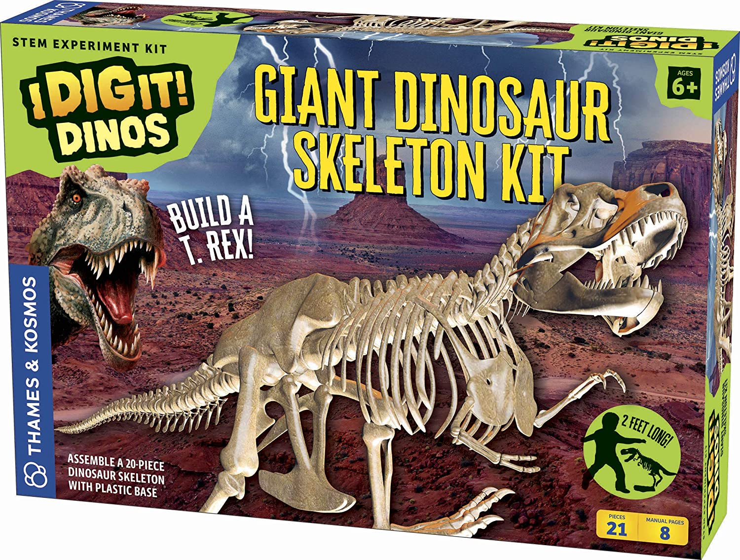 Thames & Kosmos Giant Dinosaur Skeleton Kit Science Experiment 632120