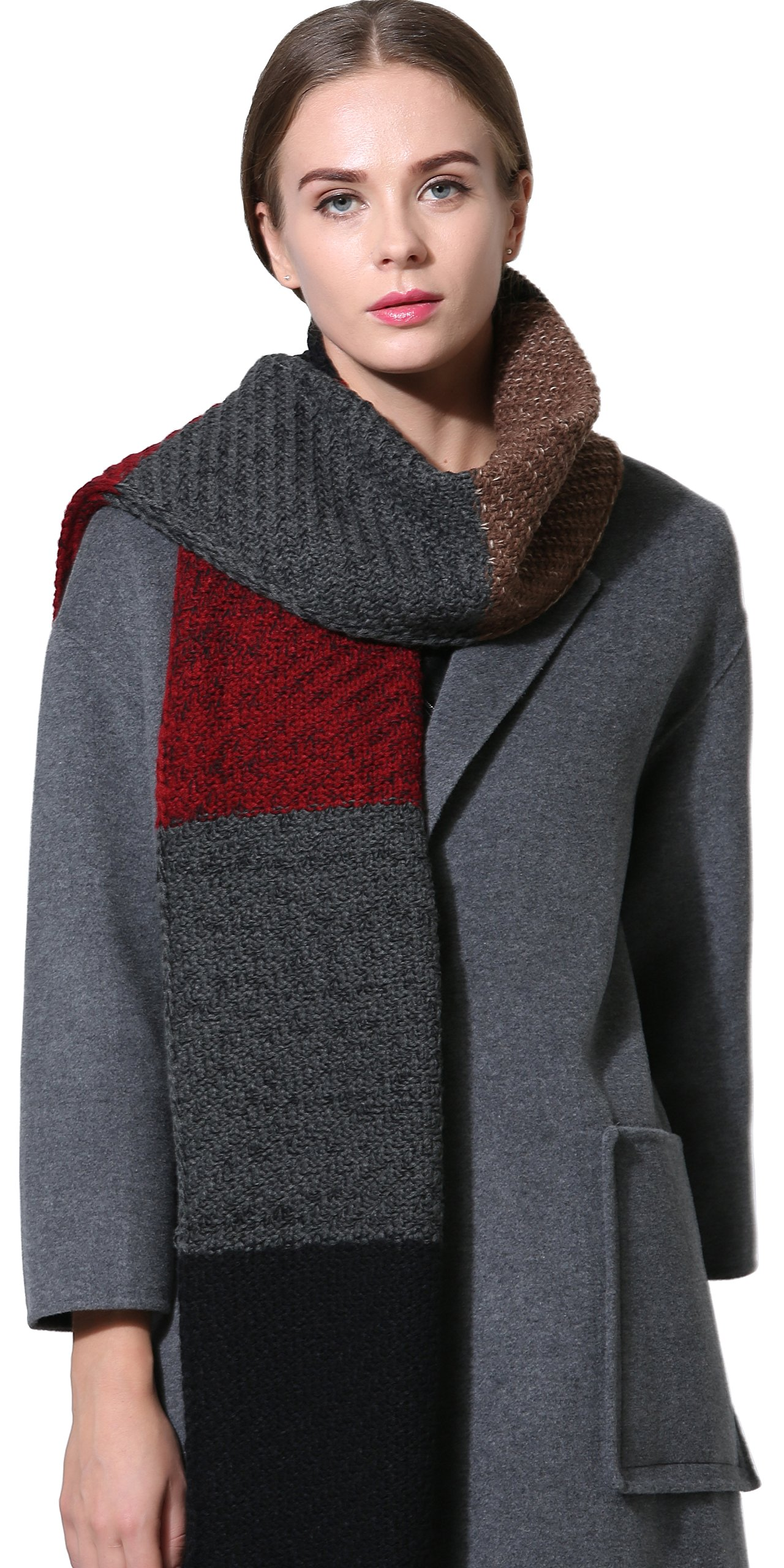 Warm scarf for cold weather