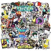 Realcome 150 pcs My Hero Academia Sticker Anime Stickers My Hero Academia Posters