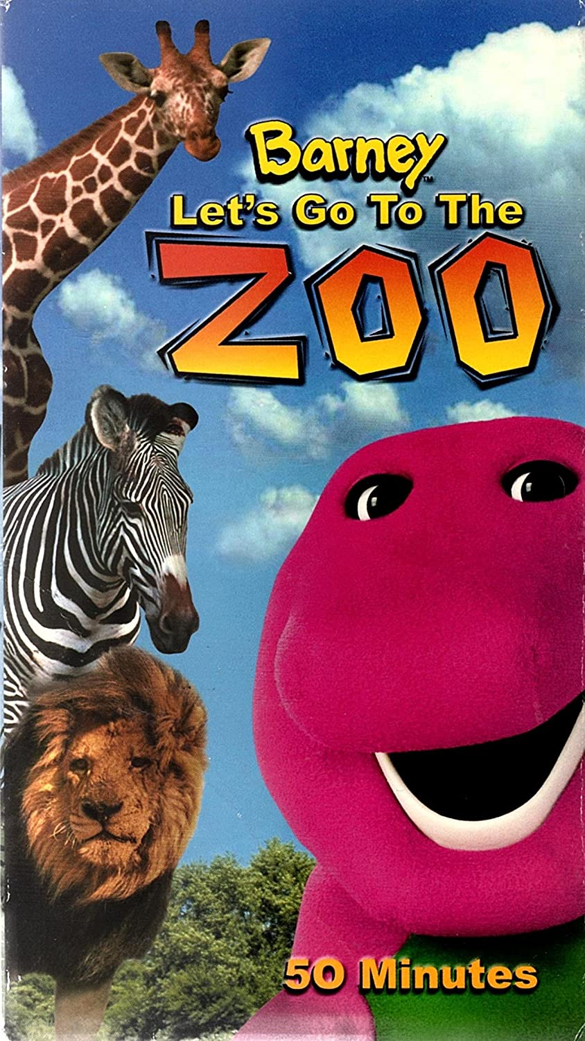 Amazon.com: Let\'s Go to the Zoo [VHS]: Barney: Movies & TV