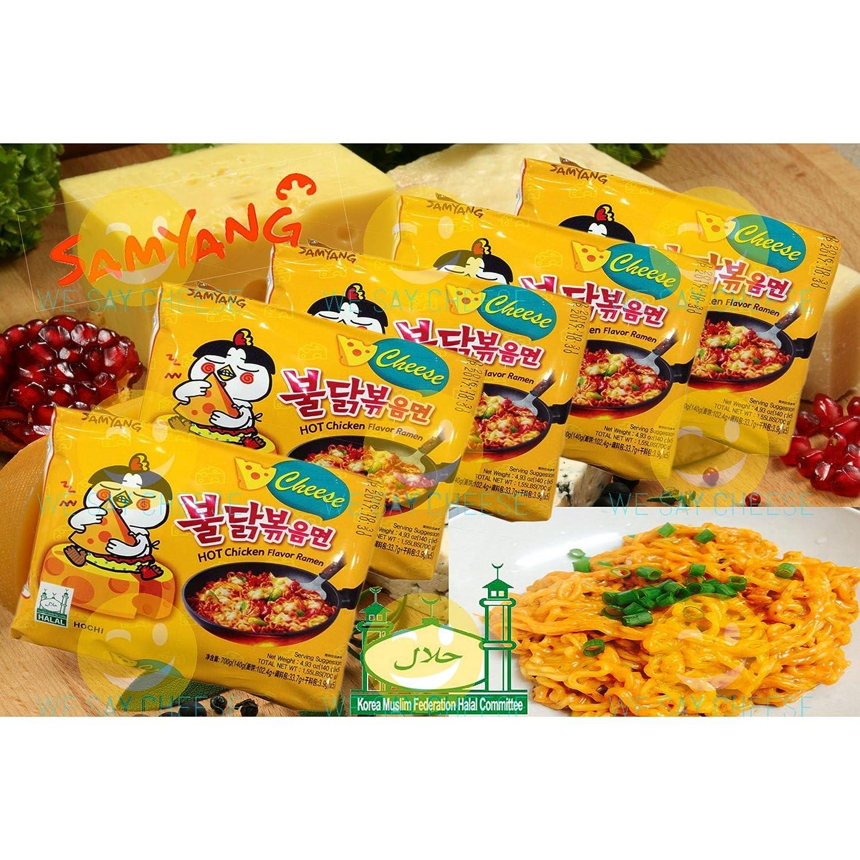 Samyang Sapore del pollo Ramen formaggio caldo (noodle stir)