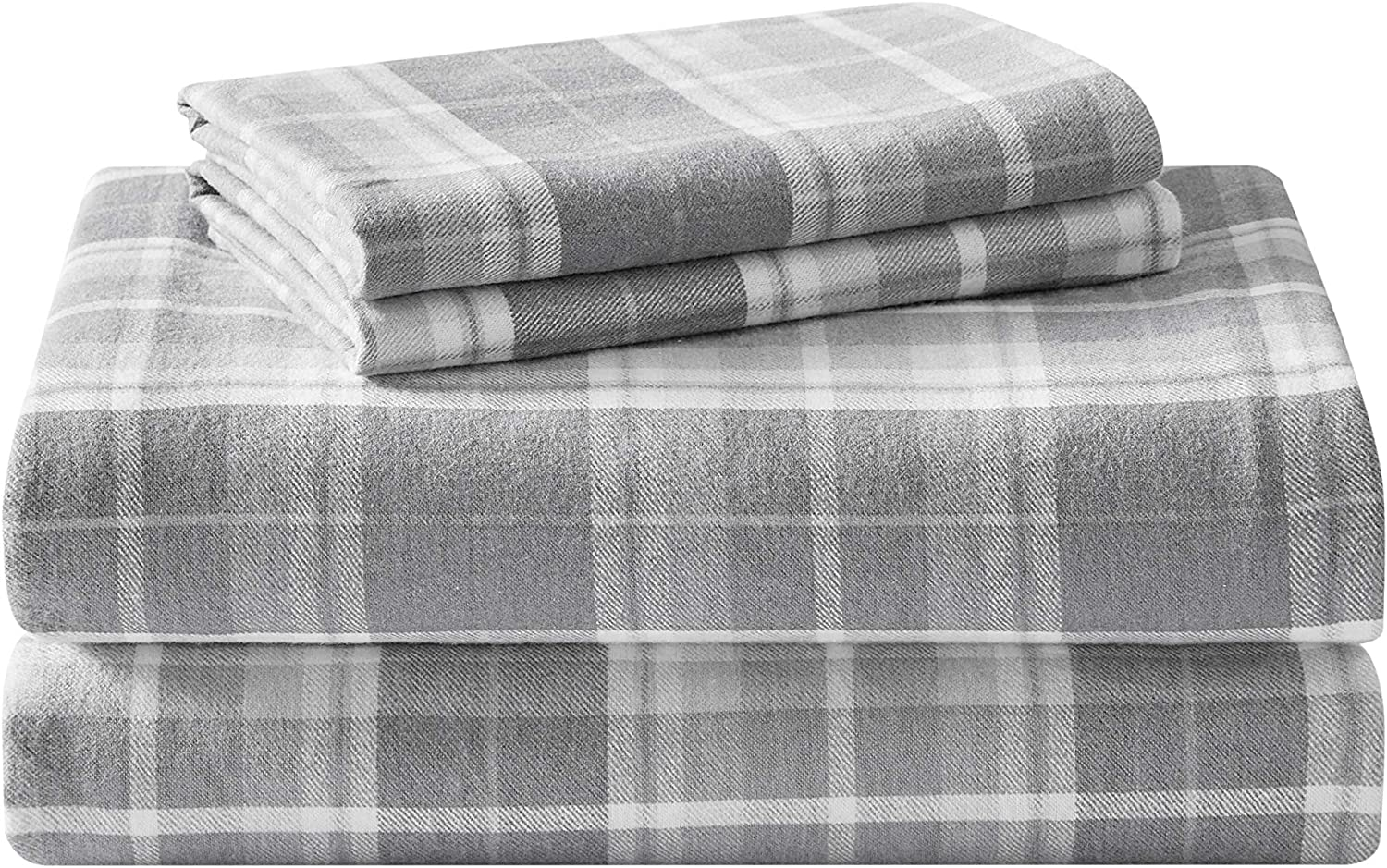Amazon Com Laura Ashley Home Flannel Collection Premium Ultra Soft Cozy Lightweight Cotton Flannel Bedding Sheet Set Wrinkle Anti Fade Stain Resistant Hypoallergenic Home Kitchen