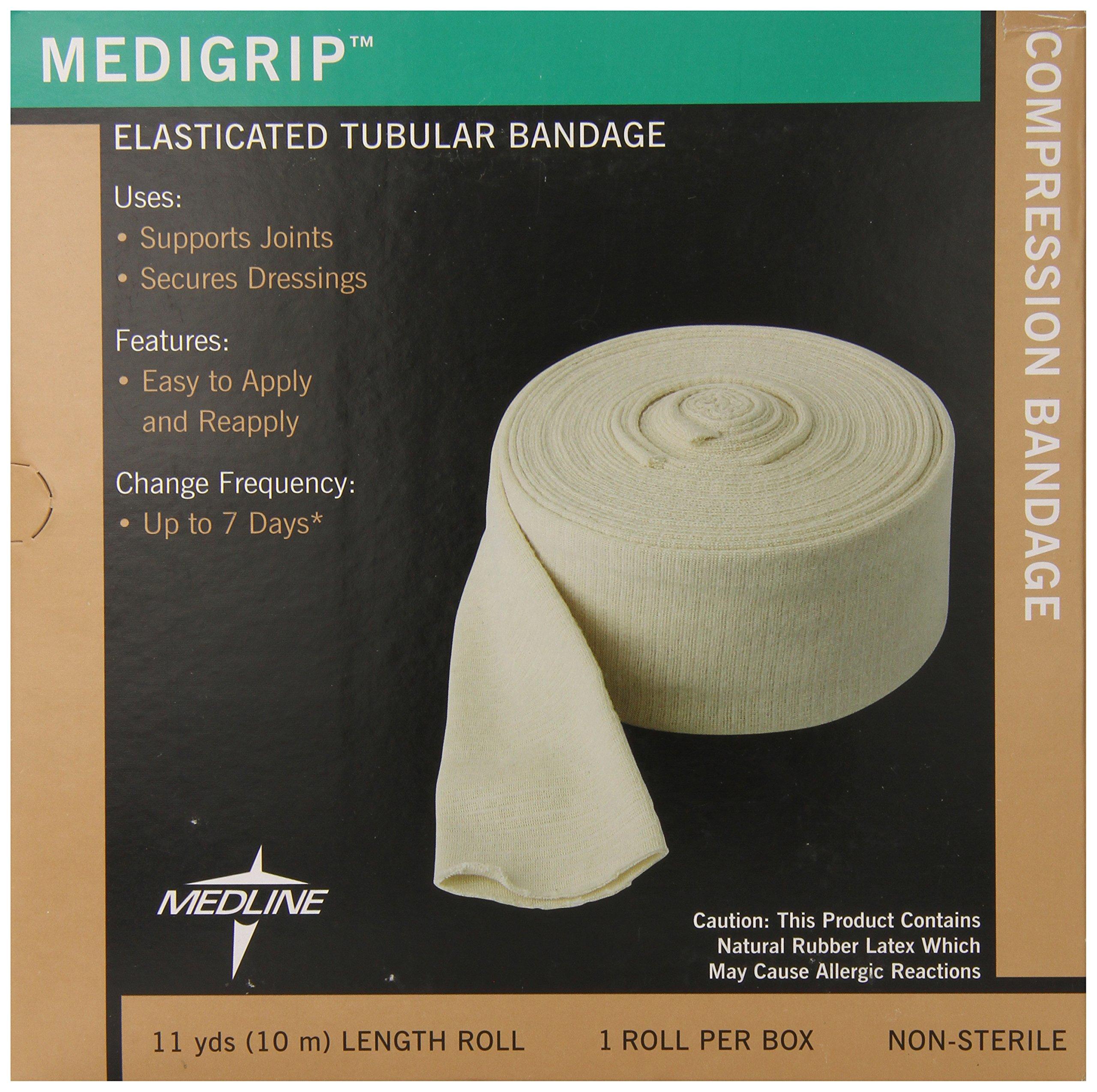 Medline Bandage Tubular Elastic Medigrip, Size G