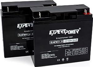ExpertPower 12 Volt 18 Ah Rechargeable Battery