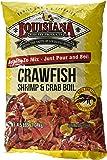 Louisiana Fish Fry Products Crawfish, Shrimp and Crab Boil Seasoning, 4.5-Pound Bag (Pack of 2)
