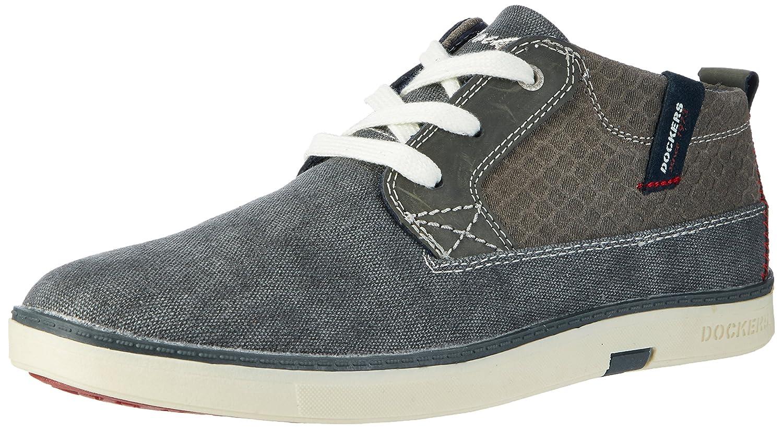 714200 Gris Gerli Hautes 38se015 grau Dockers Sneakers By Homme qxtRwCTzn