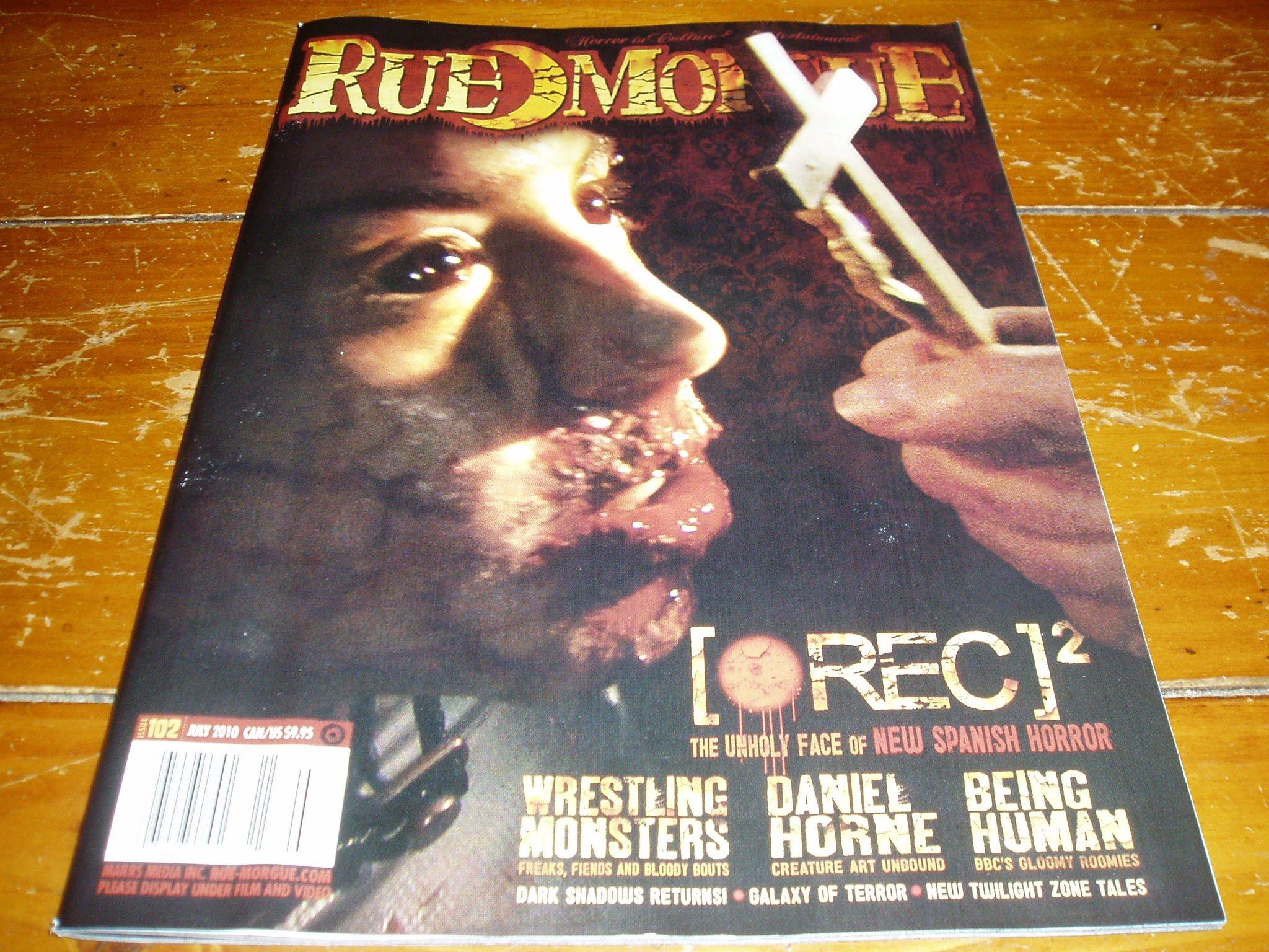 Read Online Rue Morgue Magazine # 102 July 2010 Issue pdf