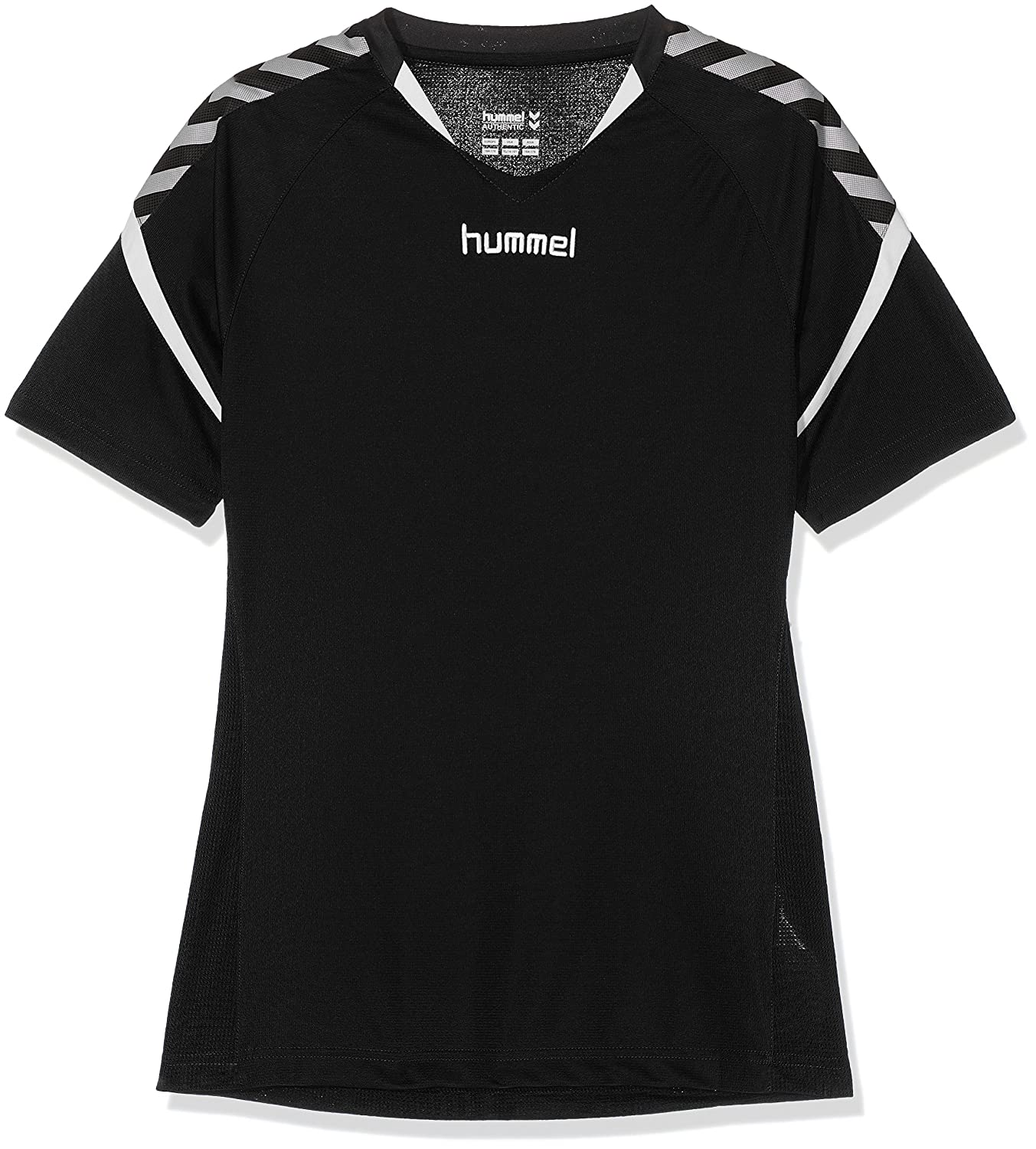 TALLA 116-128. hummel Niños AUTH. Charge Short Sleeve Poly Jersey Camiseta