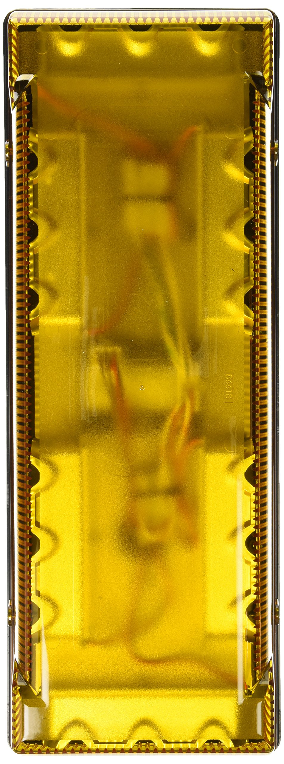 Grote 76983 Yellow 17'' Low-Profile LED Mini Light Bar (Permanent Mount)