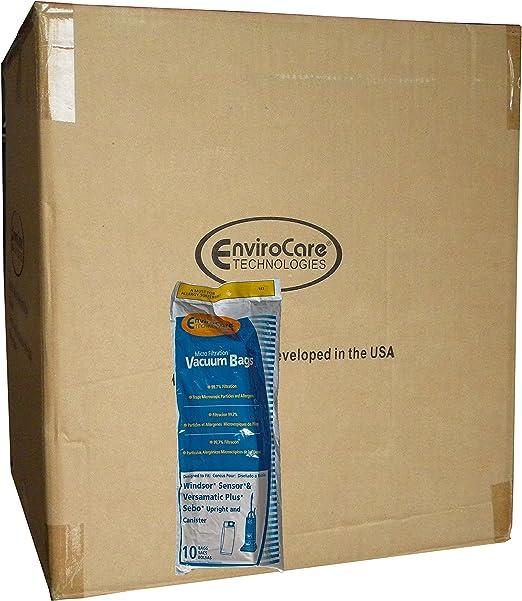 Windsor 5300 Sensor SR12 15 16 18 Versamatic Plus VSP # 143 10 Vacuum Bags