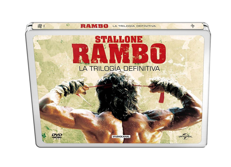 Rambo - Trilogía [DVD]: Amazon.es: Sylvester Stallone, Richard Crenna, Michael Kozoll, Brian Dennehy, George Pan Cosmatos, Ted Kotcheff, Peter Macdonald, Sylvester Stallone, Richard Crenna, Buzz Feitshans: Cine y Series TV