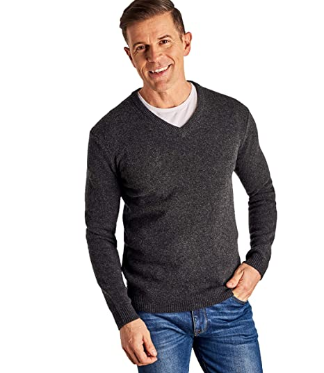 get cheap buy online best value Wool Overs Pull à col V - Homme - Laine d'agneau
