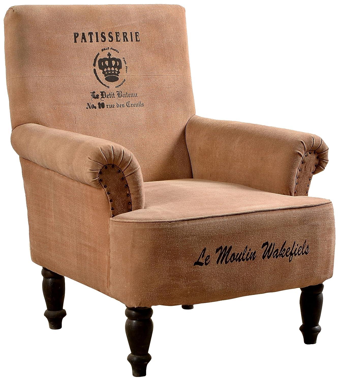 Sit Möbel 4743 30 Sessel Charleston Shesham Massiv Mit Canvas