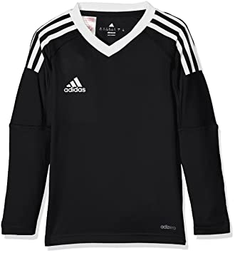 timeless design 54c8e 1dc6b adidas Revigo17 GK Y Camiseta, niños, Negro (Blanco), 116
