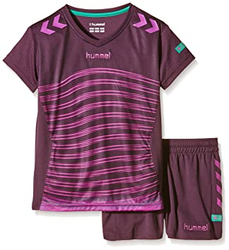 Hummel chica camiseta de fútbol Momentum morado Plum Perfect/Rose Violett Talla:6 años (116 cm): Amazon.es: Deportes y aire libre