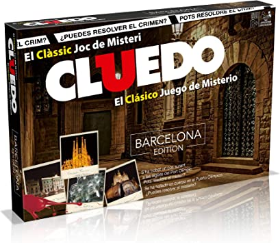 Winning Moves Cluedo Barcelona (82233), multicolor (ELEVEN ...