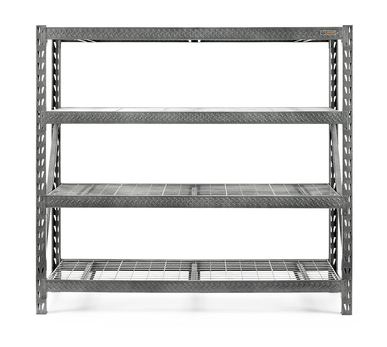 versatile ideas storage shelving a make shelf to garage shelves your wall