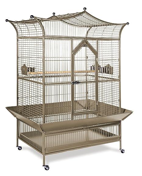 Prevue Mascota Productos Grandes realeza Jaula de pájaros 3173 ...