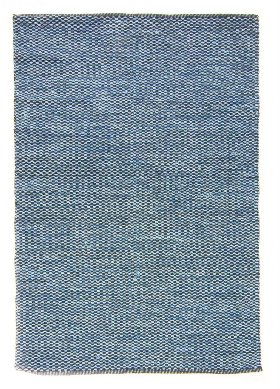 Trendcarpet Flickenteppich von Stjerna of Sweden - Tuva (blau) Größe 200 x 300 cm