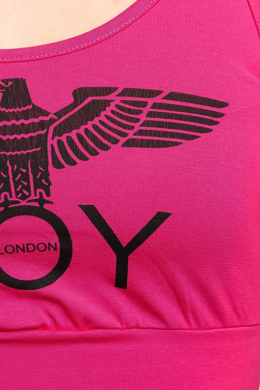 BOY LONDON Top Brassiere Donna Fuxia