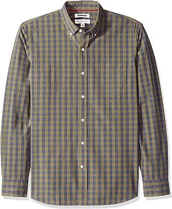 Goodthreads Standard-Fit Long-Sleeve Plaid Poplin Shirt Hombre: Amazon.es: Ropa y accesorios