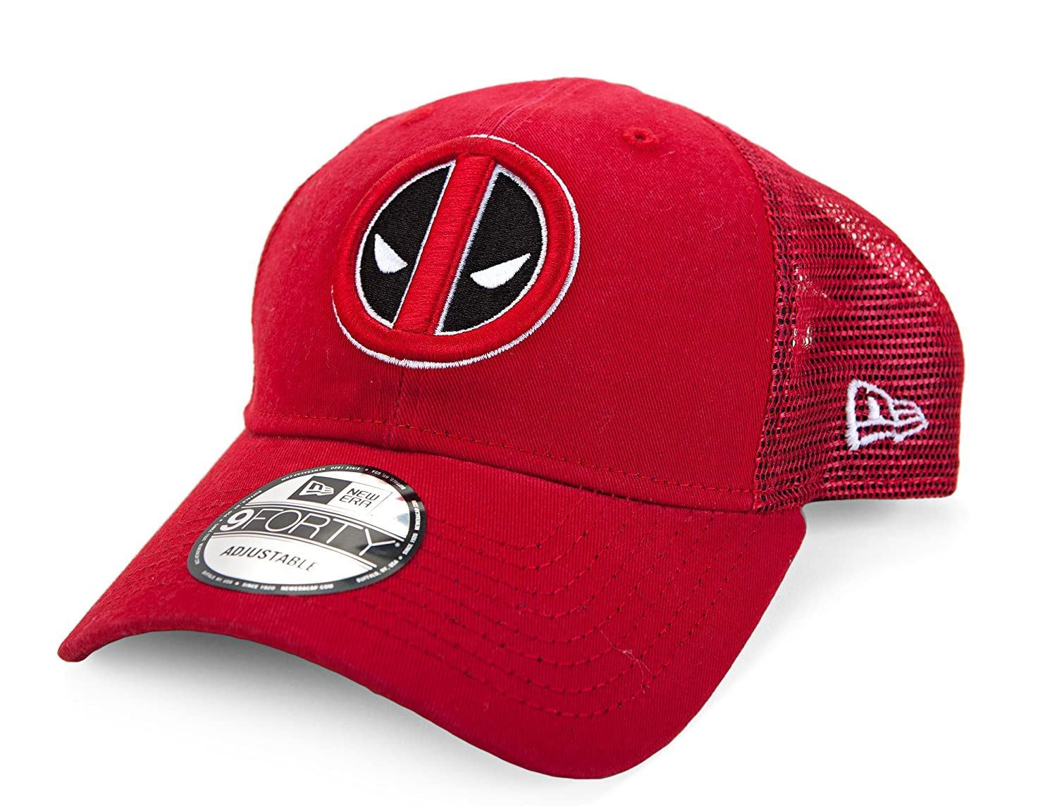 New Era Marvel Deadpool Symbol Washed Trucker Snapback Gorra De ...