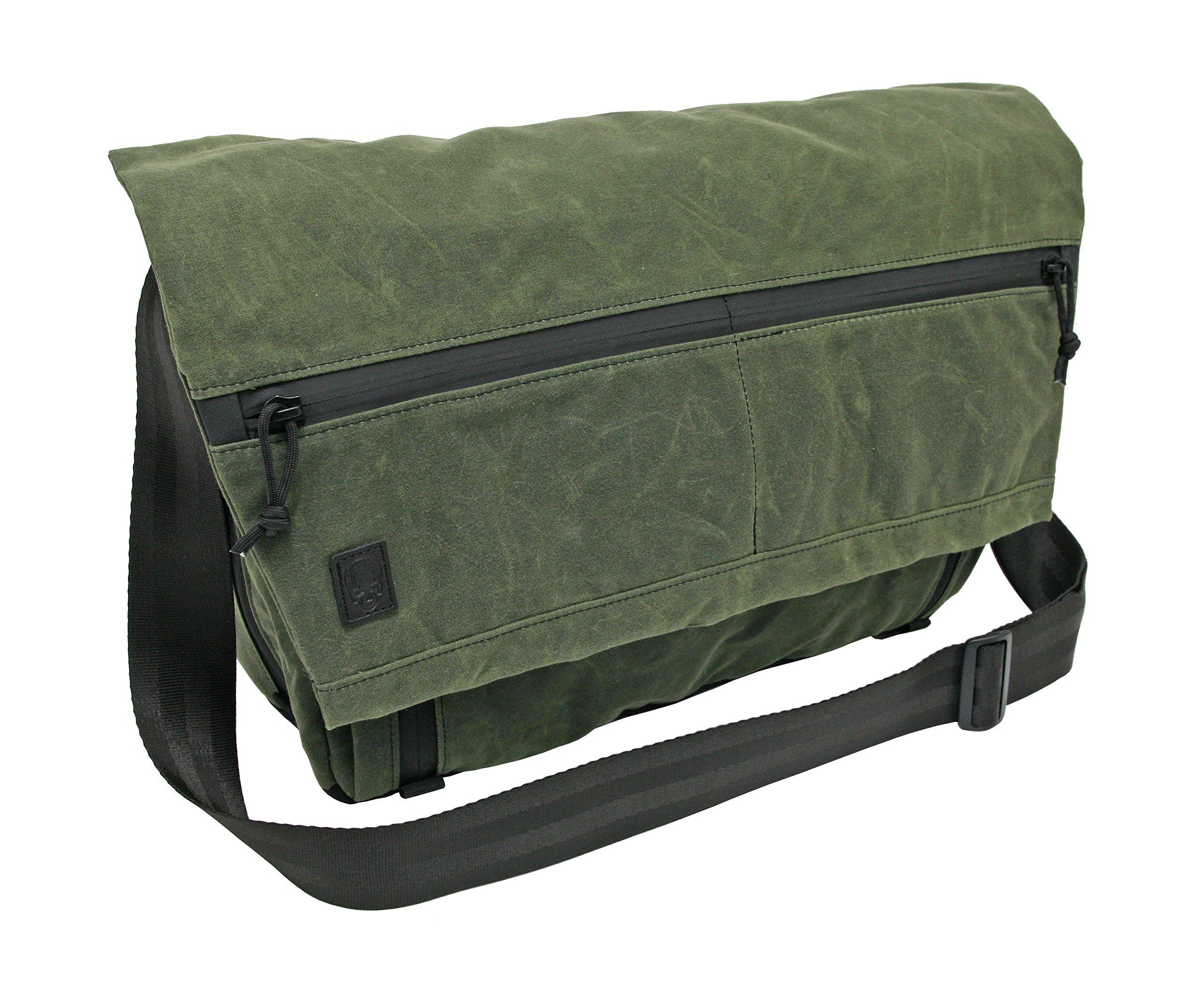 Grey Ghost Gear Wanderer Messenger Bag, OD