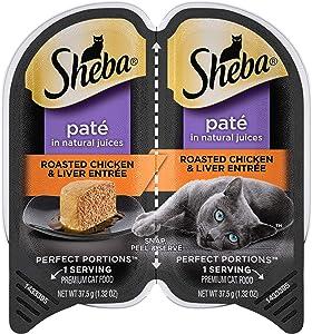 Sheba Perfect Portions Paté Wet Cat Food Trays