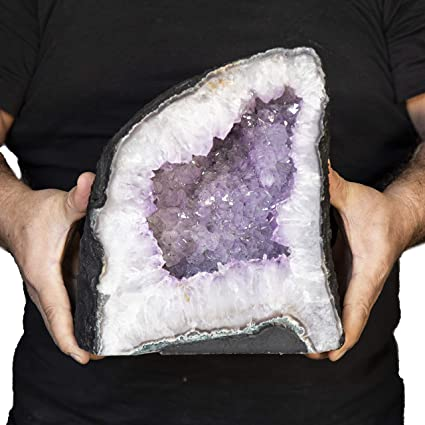 Amazon com: Beverly Oaks AAA Grade Large Amethyst Geode - Amethyst