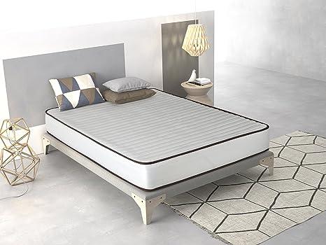 Imperial Confort- Colchón Basic - 120 x 180 x 15 cm - Color blanco