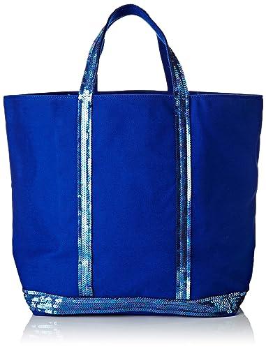 58b8c23cf5 Vanessa Bruno femme Cabas Moyen+ Cabas Bleu (Bleu Electrique ...