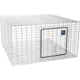"LITTLE GIANT Wire Rabbit Hutch - Pet Lodge - Heavy Duty Galvanized Rabbit Home, Easy to Assemble (24"" x 24"") (Item No. AH2424"