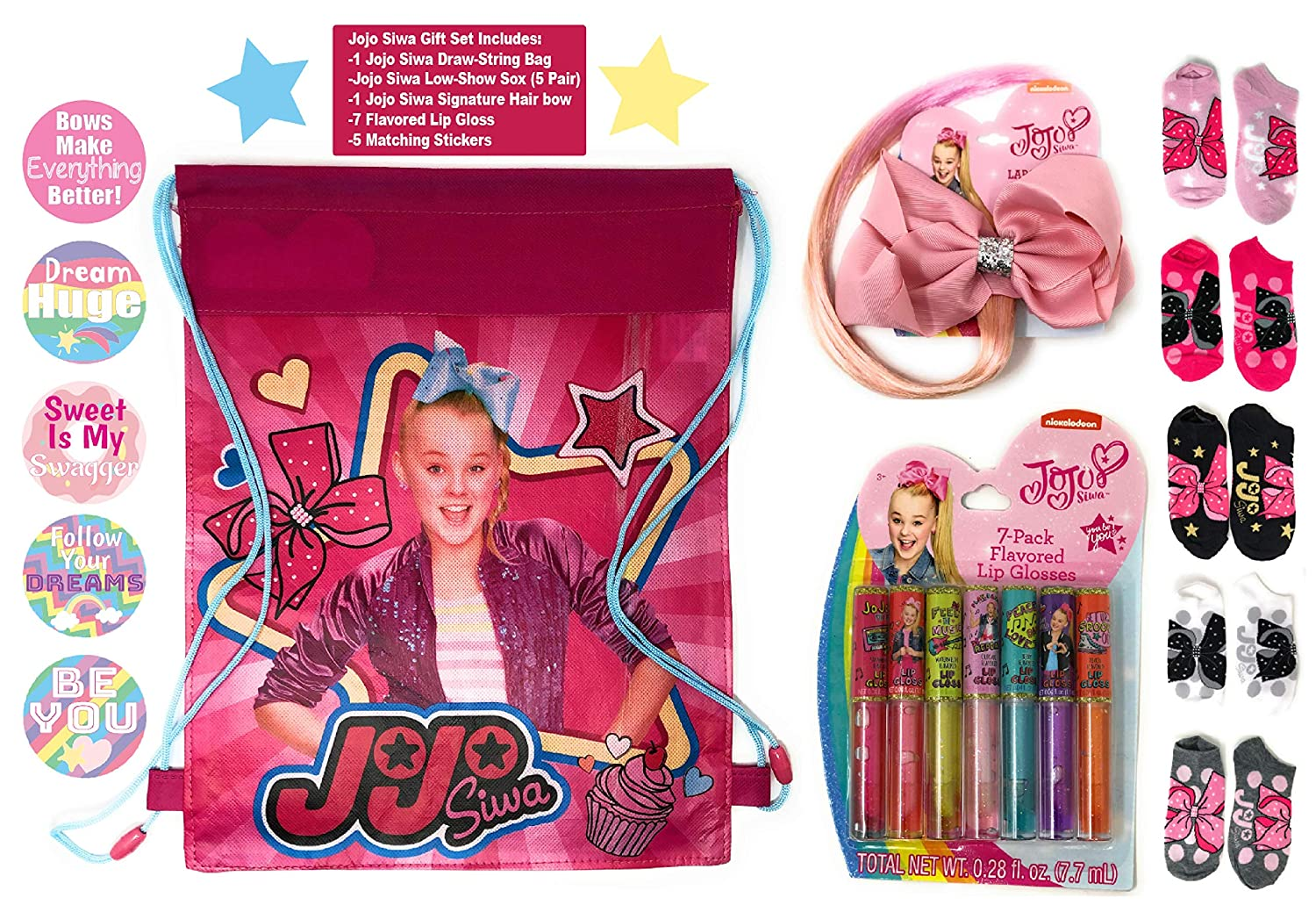 Amazon com jojo siwa stocking stuffers for girls birthday gift sets for girls christmas gift ideas for little girls jojo siwa accessories fun presents
