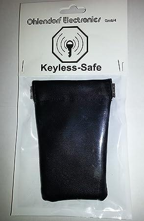 Radio (RFID/NFC)/Keyless auto estuche llavero (Blocking móvil). Keyless – Fuerte para llave de coche con el sistema Keyless – Go Proteger Contra Robo De Auto por radio y los Ataques Hacker.: Amazon.es:
