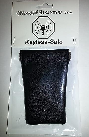 2 X Entrada sin Llave RFID Protector Protecci/ón de Privacidad flintronic Coche Bloqueo de Se/ñal