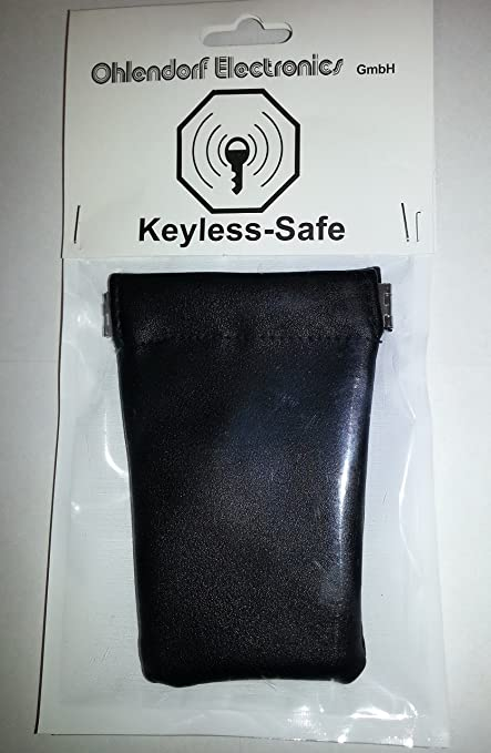 Radio (RFID/NFC)/Keyless auto estuche llavero (Blocking móvil). Keyless – Fuerte para llave de coche con el sistema Keyless – Go Proteger Contra Robo ...